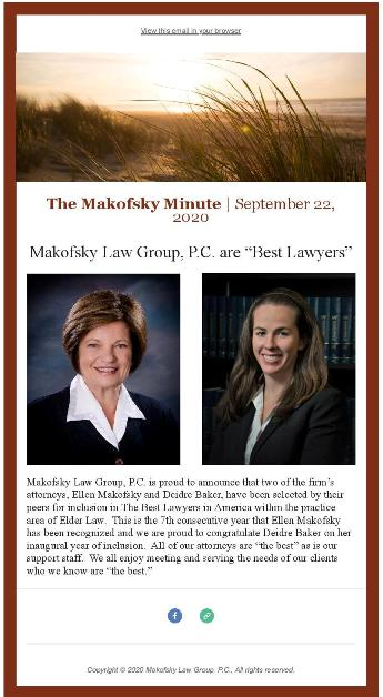 """Makofsky Law Group, P.C. are """"Best Lawyers"""""""